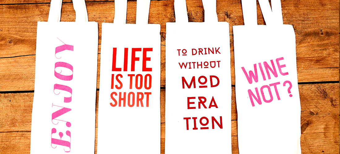 Wine bags in English - Loloprints.com